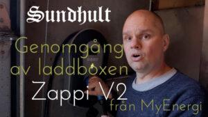 Genomgång av laddboxen MyEnergi Zappi V2