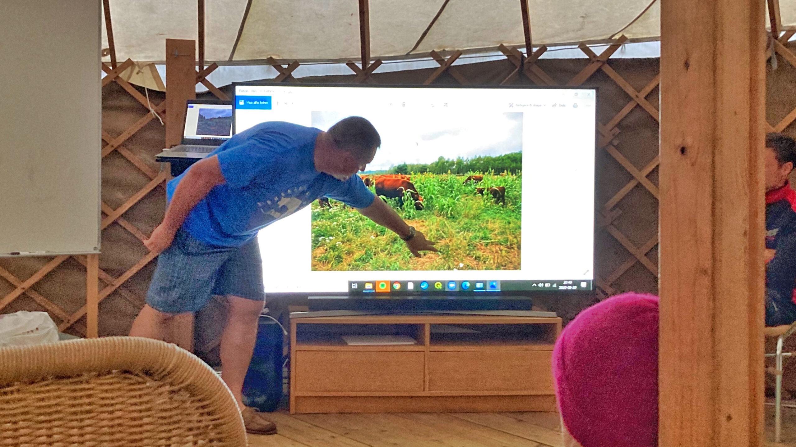 Tomasz Jakiel  på  Lubuskie Angusowo i Polen berättade om sin gård
