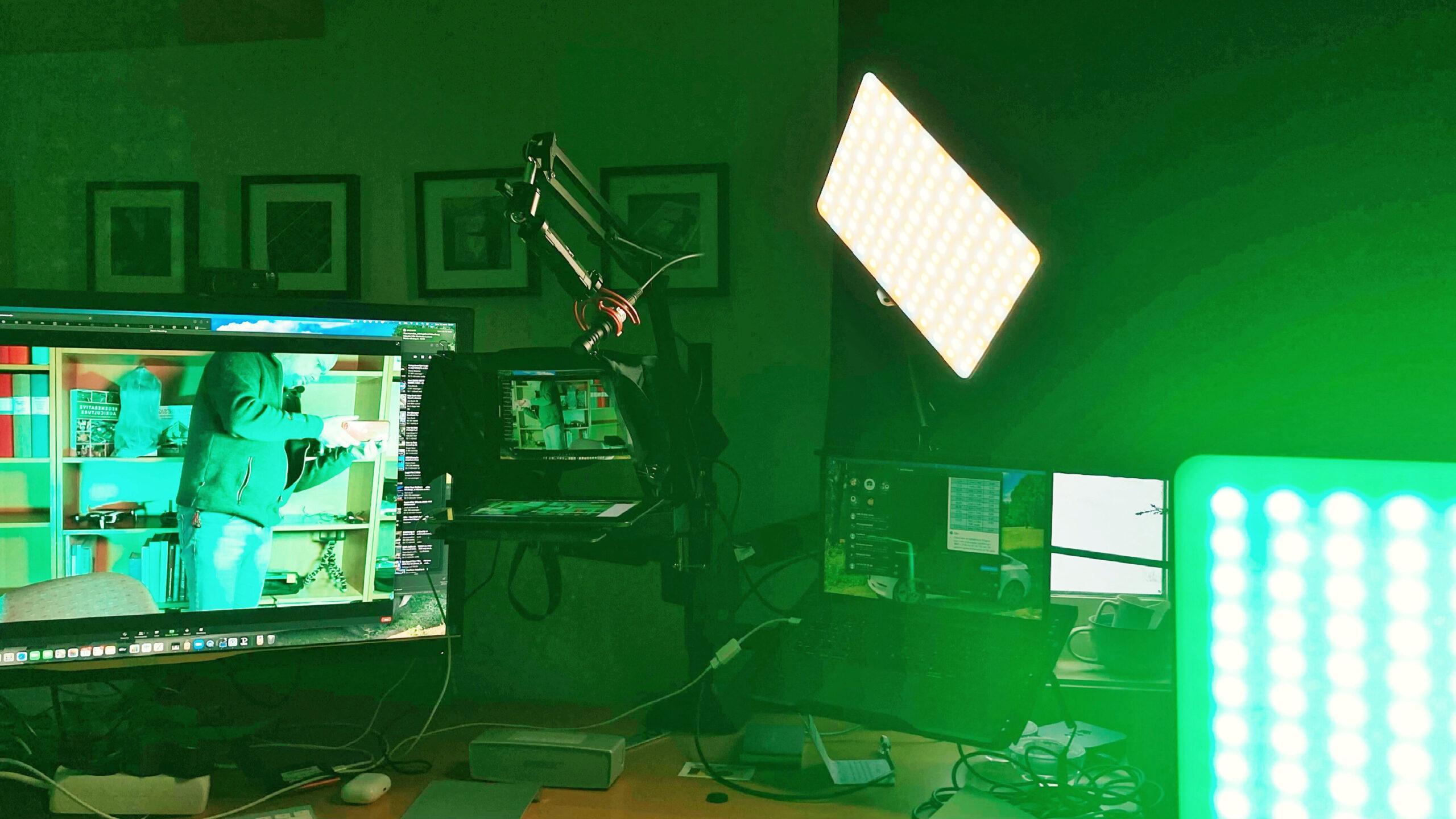 Weeylite Sprite 20 som videobelysning